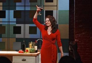 Antoinette LaVecchia, 2014, I Loved, I Lost, I Made Spaghetti, Cincinnati Playhouse in the Park. Photo Sandy Underwood