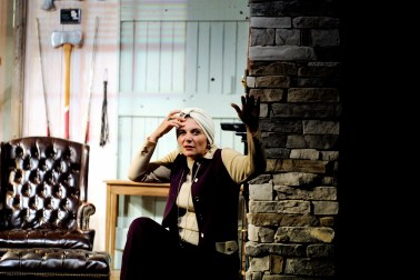 as Helga ten dorp in DEATHTRAP at Dorset Theatre Festival, directed by Giovanna Sardelli