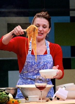 Antoinette LaVecchia, 2014, I Loved, I Lost, I Made Spaghetti, Cincinnati Playhouse in the Park. Photo Sandy Underwood