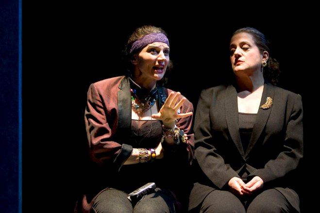 with Mary Testa in Michele Lowe's STRING OF PEARLS at Primary Stages, directed by Eric Simonson