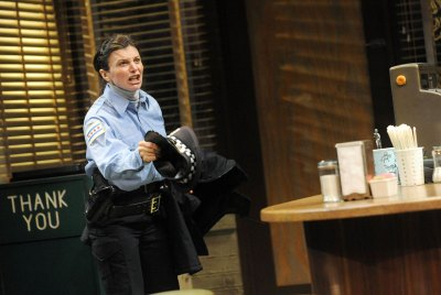 as officer Randy Osteen in SUPERIOR DONUTS at the Pittsburgh Public Theater, directed by Ted Pappas