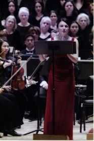 making her Carnegie Hall debut in PUCCINI: A COMPOSER'S JOURNEY, directed by Robert Moss