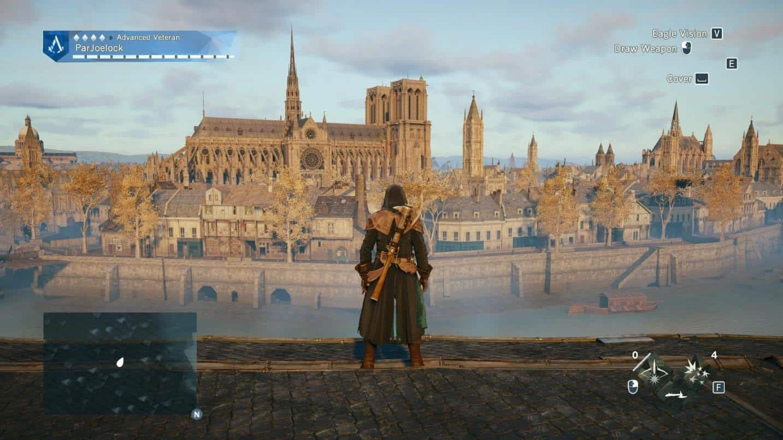 notre Dame game2 كاتدرائية نوتردام - كشكول تاريخ وذكريات
