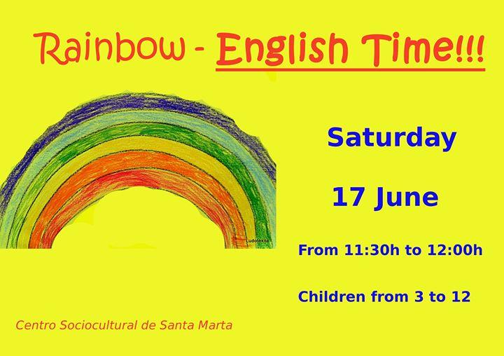 English Time! Rainbow. Centro Sociocultural de Santa Marta