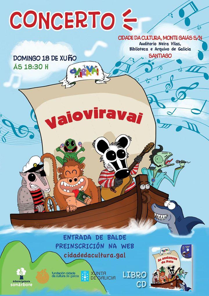 Oviravai presenta na Cidade da Cultura 'As andanzas de Paio'