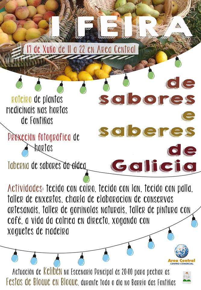 I Feira de Sabores e Saberes de Galicia. Área Central.