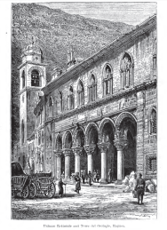 Architectural Illustration of Ragusa