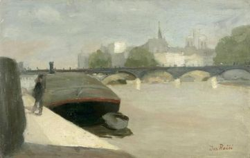 Pont des Arts, 1908.