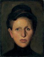 Portret sestre Pepice (Portrait of Sister Pepice), 1907.