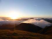 Sunrise on Pillar Rock, Lake District, UK