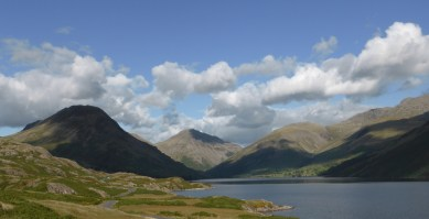 Best view in country, Wasdale, with Great Gable at the head.