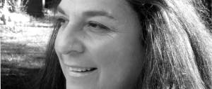 Black & white photo of Antonella Bargione