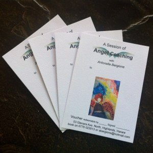 Angel coaching vouchers