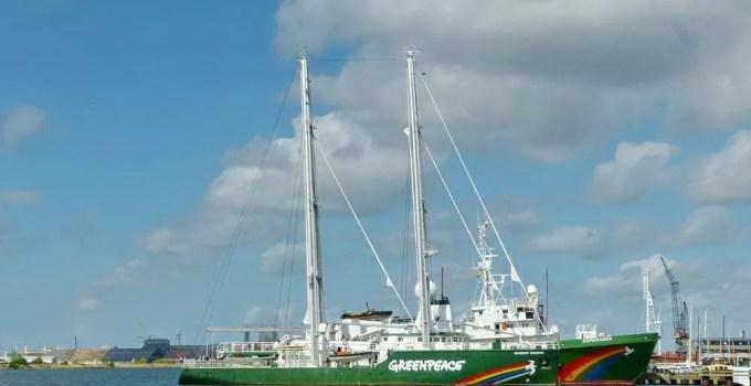 Greenpeace Ships in Amsterdam