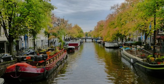 Prinsengracht in the fall