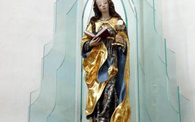 Św. Barbara – patronka nawracających się i umierających