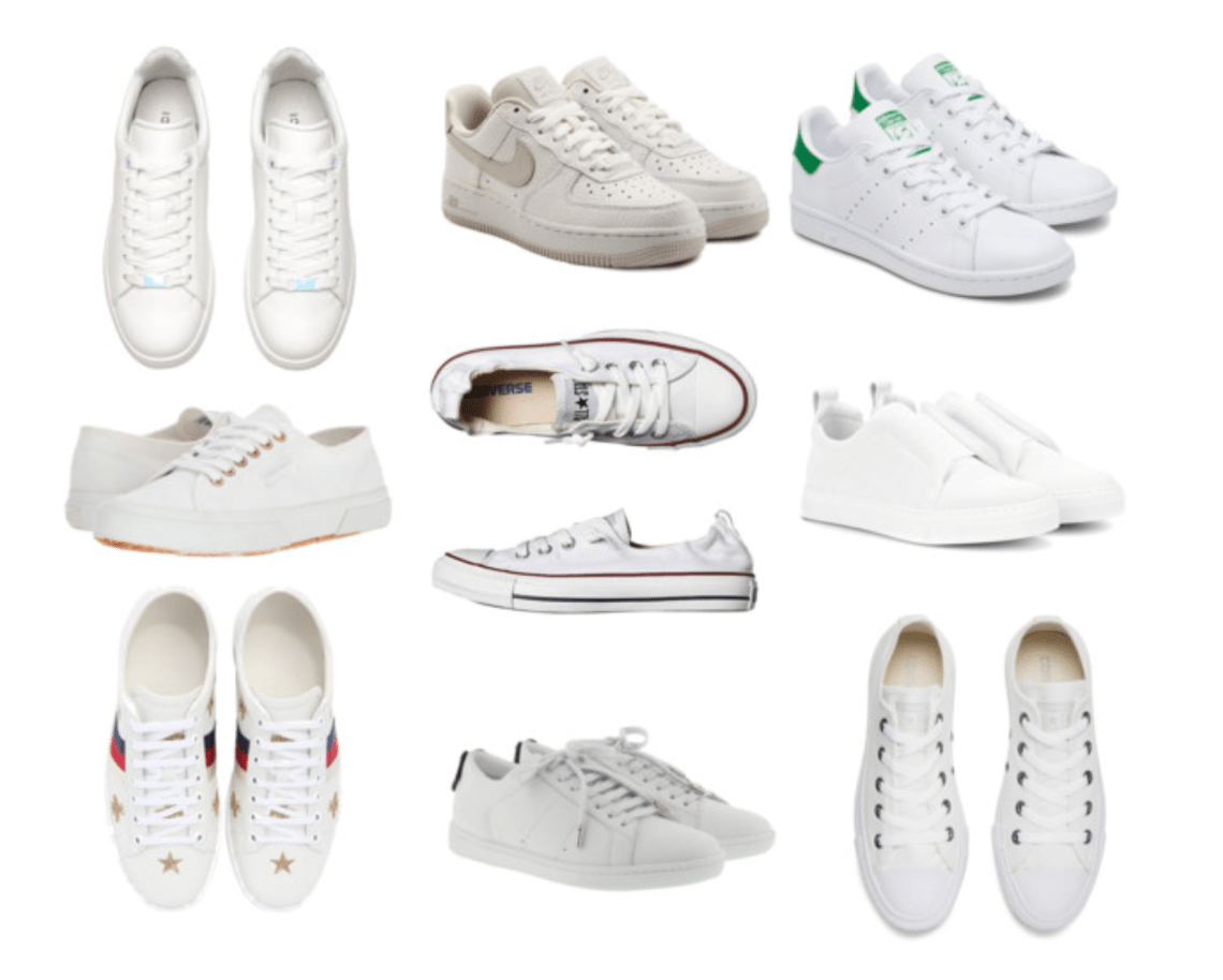 Your guide to White Sneakers ANTONIAGSNR