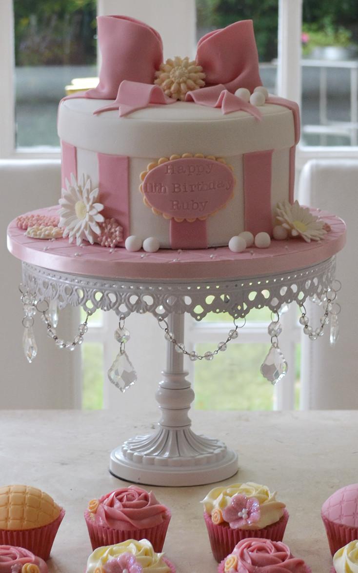 Ballerina Cakes Girls Birthday Cupcakes Celebration