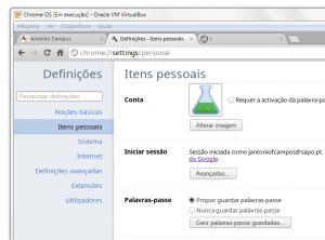 ChromeOS VirtualBox