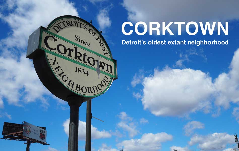 Eating in Corktown, Detroit