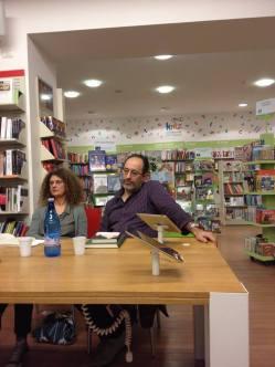 Da sx: Cristina Guarducci, Antonio Celano