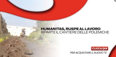 """humanitas lavori antonio condorelli mensile """"S"""""""