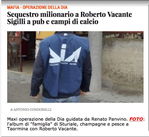 Roberto Vacante Livesicilia Catania