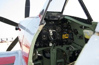 Spitfire cockpit
