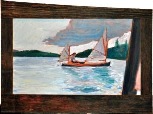 Adirondak Sailing Canoe