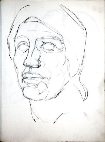 Head after Michaelangelo 1981