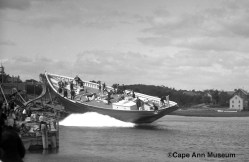 Arethusa Launching 9.25.1907