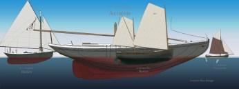 Actæon with fleet