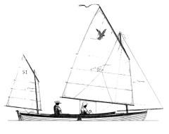 SPARHAWK Sail Plan