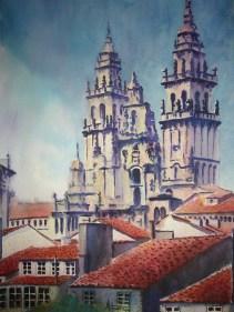 Catedral de Santiago, 50x70 120 €