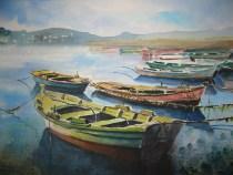 Puerto de Combarro I, 70x50 120 €