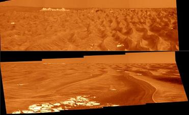 Immagini da Marte, i ripple