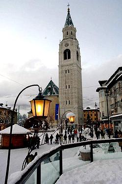 Neve a Cortina