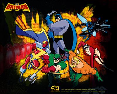 Batman the brave and the bold su Italia 1