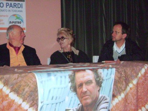 con Dario Fo e Franca Rame
