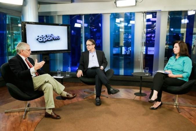 Antonio Lavareda e Mônica Bergamo entrevistam José Álvaro Moisés