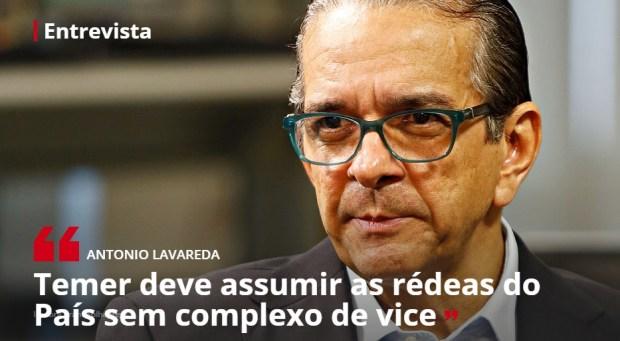 Antonio Lavareda comenta os desafios do governo Temer / Reprodução: Isto É