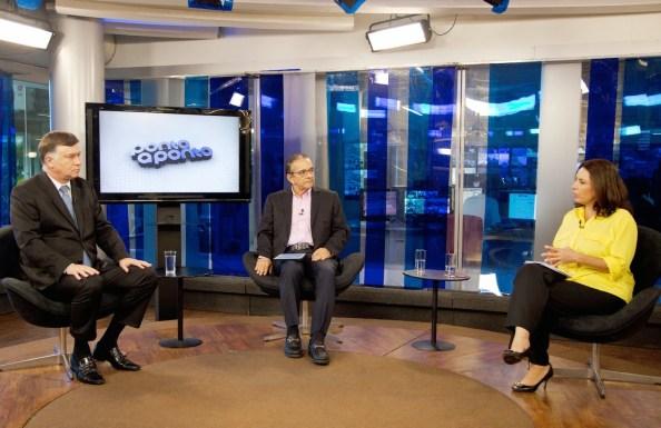 Antonio Lavareda e Mônica Bergamo entrevistam Marcelo Costa