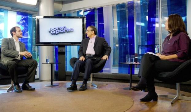 Mônica Bergamo e Antonio Lavareda entrevistam Paulo Velasco