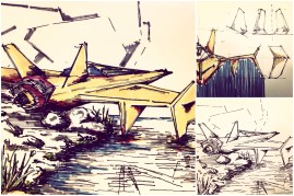 Visual 2D and 3D Development of a Comic Space Battle Mission by ALG [Teaser Shots] img_001