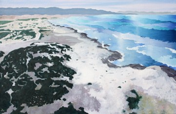 Marina de Cope, Águilas, Murcia, óleo/lienzo, 60 x 92