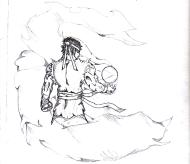 ryu-original-sketch