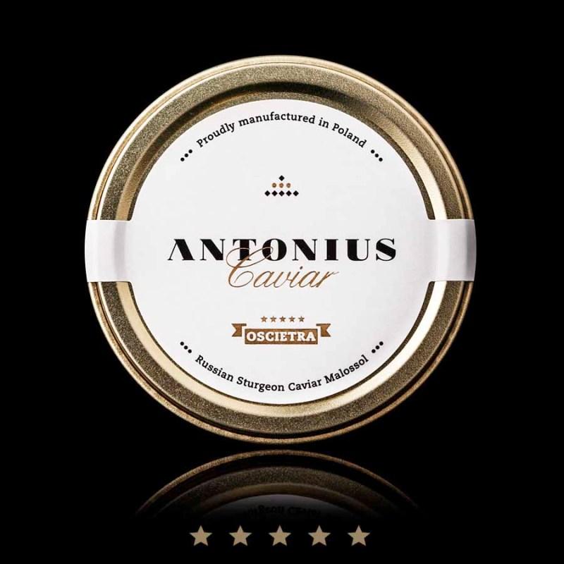 Oscietra caviar 5 Star Antonius Caviar USA
