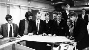 В бюро Carter Offshore inc. работало много молодых амбициозных конструкторов. 1970 год