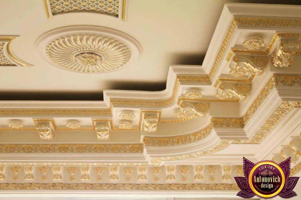 Refined Gypsum Stucco Work And Decoration