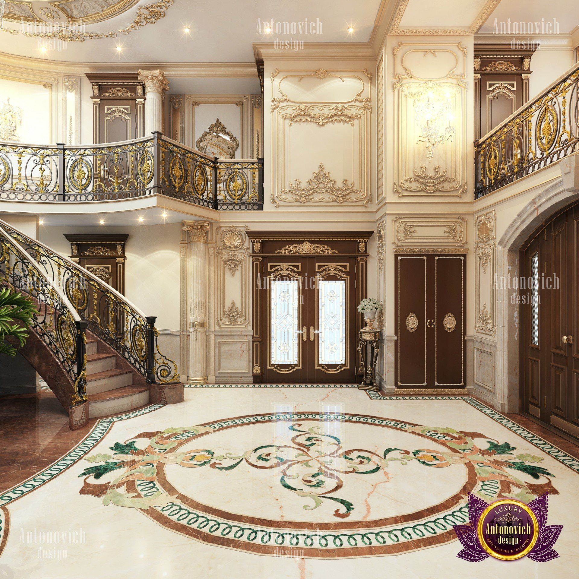 Royal Villa Interior Design In Kuwait